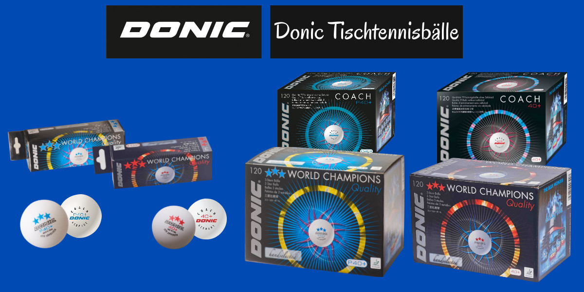Donic Table Tennis Balls