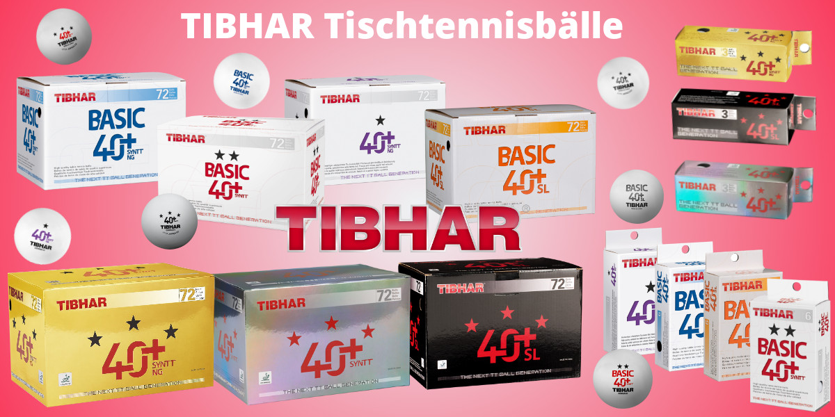 Tibhar Table Tennis Balls