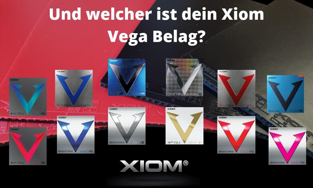 Xiom Vega Rubbers