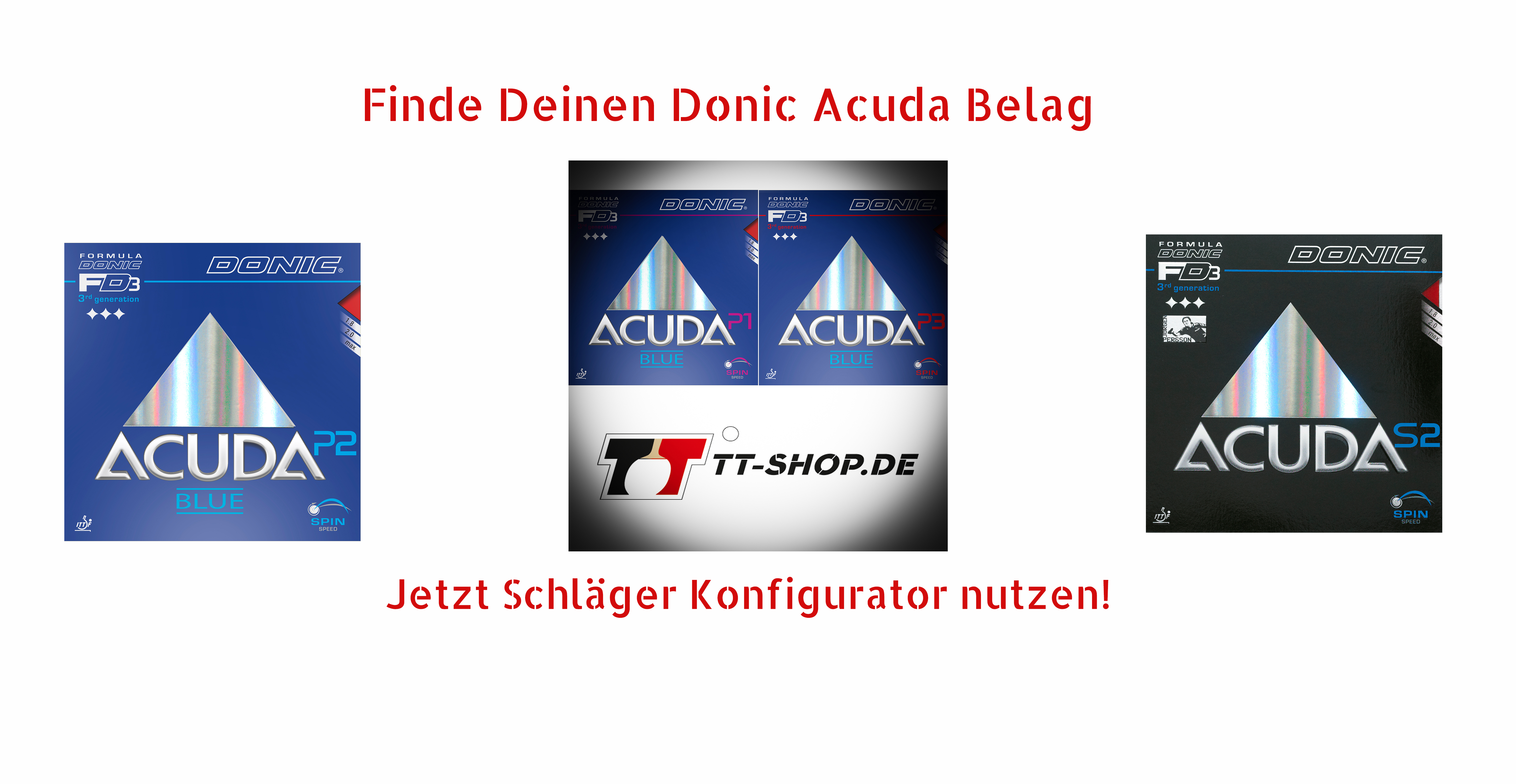 Donic Acuda Rubbers
