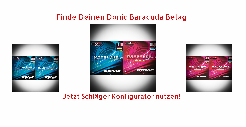 Donic Baracuda Rubbers
