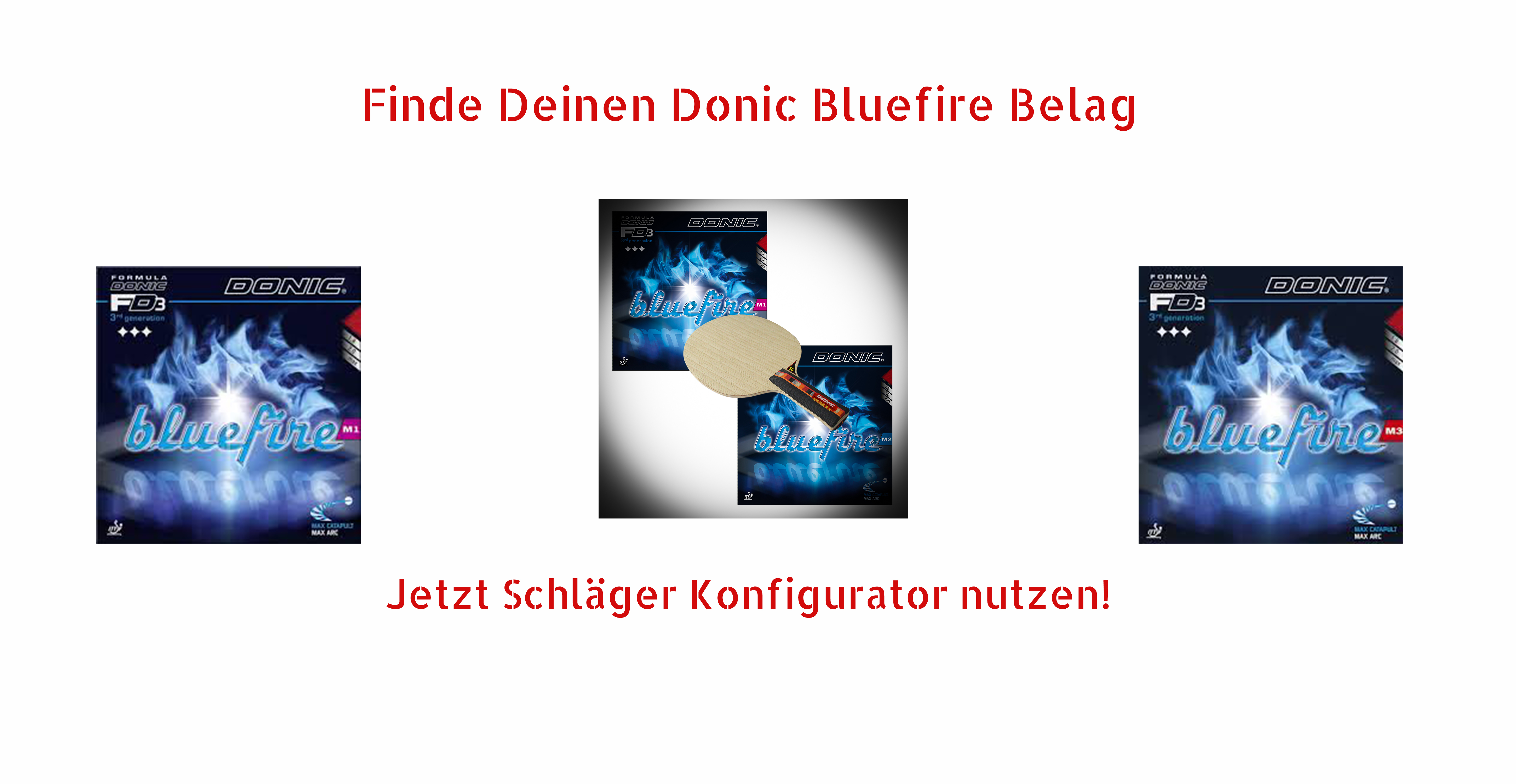 Donic Bluefire Rubbers