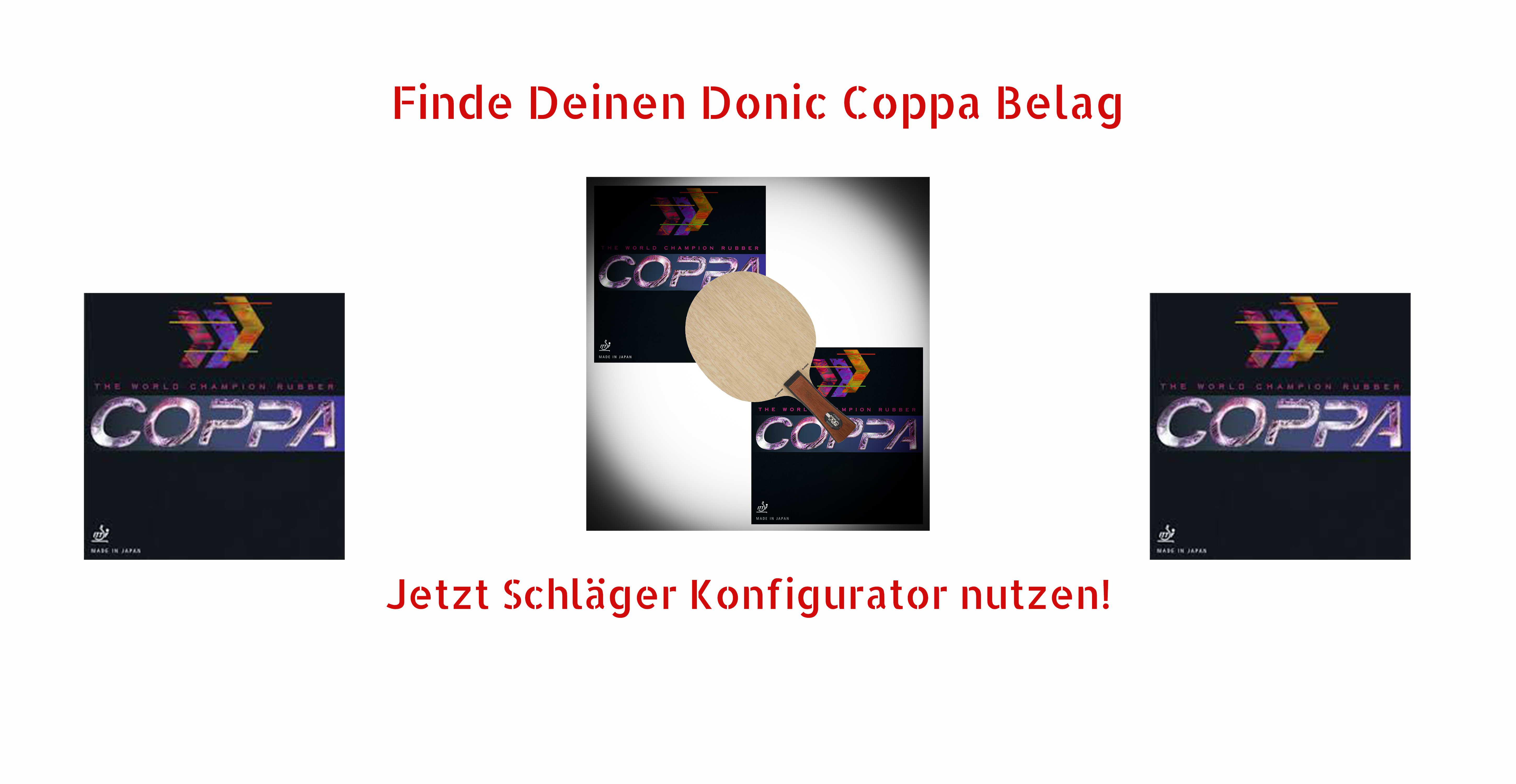 Donic Coppa Rubbers
