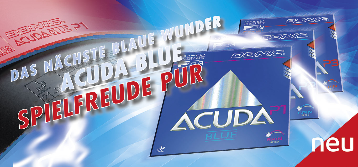 Donic Acuda Blue Rubbers