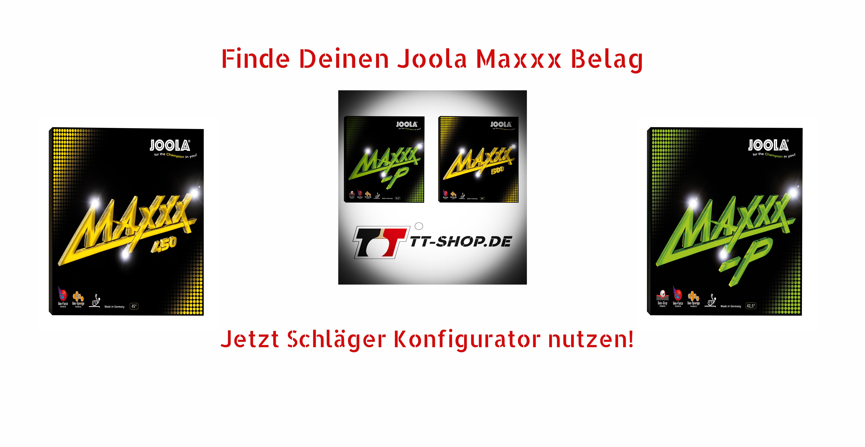 Joola Maxxx Rubbers