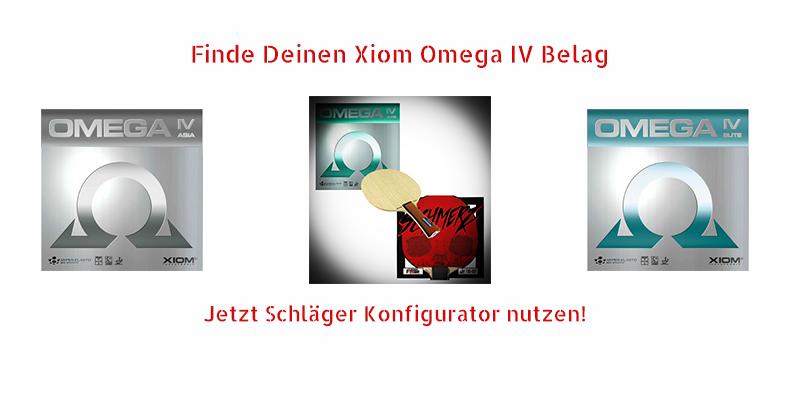 Xiom Omega IV Rubbers