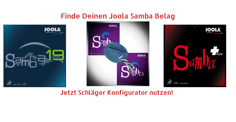 Joola Samba Rubbers
