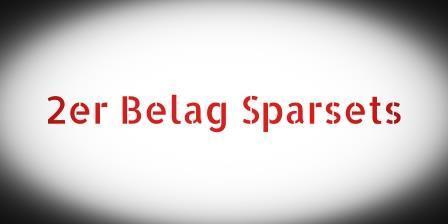2er Belag Sparset